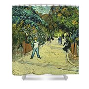 Entrance To The Public Gardens In Arle Shower Curtain