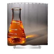 Equipment In Science Research Lab Shower Curtain