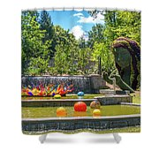Chihuly Exhibition In The Atlanta Botanical Garden. #02 Shower Curtain