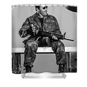 Expendables 3 2014  Shower Curtain