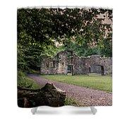Fairafar Mill, Cramond, Edinburgh Shower Curtain