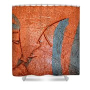 Family - Tile Shower Curtain