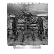 Farmall Tractor Shower Curtain
