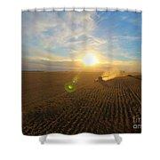 Farming Shower Curtain