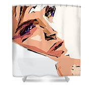 Female Expressions Xii Shower Curtain
