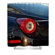 Ferrari Tail Light Shower Curtain
