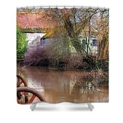 Fiddleford Mill - England Shower Curtain
