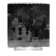 Film Homage Anthony Perkins Janet Leigh Alfred Hitchcock Psycho 1960 Vacant House Black Hills Sd '65 Shower Curtain