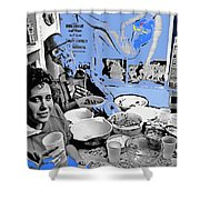 Film Homage Esther Williams Skirts Ahoy 1952 St. Patrick's Day Party Tucson Arizona 1985-2012 Shower Curtain