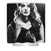 Film Noir Woman Shower Curtain