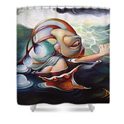 Finnegan Gilwicker Shower Curtain