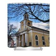 First Parish Church Beverly Ma Shower Curtain