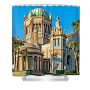 Flagler Memorial Presbyterian Church 3 Shower Curtain