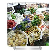 Florence Market  Shower Curtain