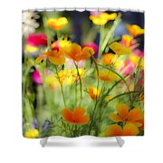 Flowering Garden Shower Curtain