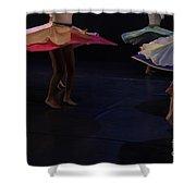Folk Dancing  Shower Curtain