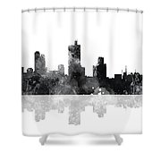 Fort Worth Texas  Skyline Shower Curtain