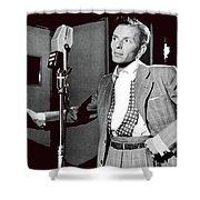 Frank Sinatra William Gottlieb Photo Liederkranz Hall New York City 1947-2015 Shower Curtain