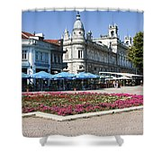 Freedom Square, Ruse, Bulgaria Shower Curtain
