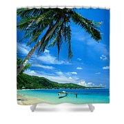 French Polynesia, Huahine Shower Curtain