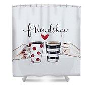 Friendship Shower Curtain