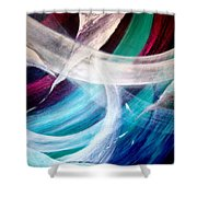 Gaia Symphony Shower Curtain