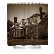 George Mason's Gunston Hall Shower Curtain