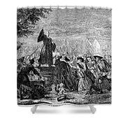 George Whitefield Shower Curtain