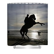 Horseback Riding Shower Curtain