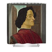 Giuliano De' Medici Shower Curtain