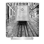 Gloria Funicular Shower Curtain