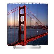 Golden Gate Bridge San Francisco Ca Shower Curtain