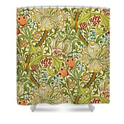 Golden Lily Shower Curtain