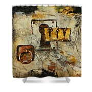 Grab The Brass Ring Shower Curtain