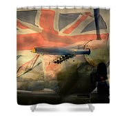 Grace Spitfire Ml407 Shower Curtain