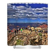 Grand Canyon #  4 - Mather Point Overlook Shower Curtain