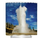 Grand Geyser Shower Curtain