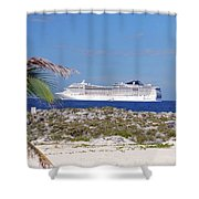 Great Stirrup Cay Shower Curtain