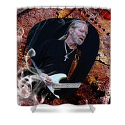 Gregg Allman Art Shower Curtain