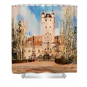 Greillenstein Castle Shower Curtain