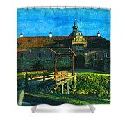 Gripsholm Castle Castle Autumn  Shower Curtain