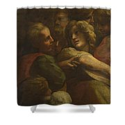 Group Of Heads  Shower Curtain