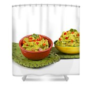 Guacamole. Shower Curtain