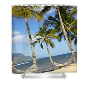 Hanalei Bay, Hammock Shower Curtain