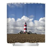 Happisburgh Lighthouse Shower Curtain
