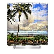 Hawaii Pardise Shower Curtain