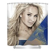 Hayden Panettiere Collection Shower Curtain