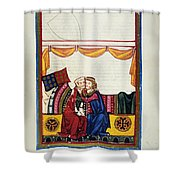 Heidelberg Lieder, 14th C Shower Curtain