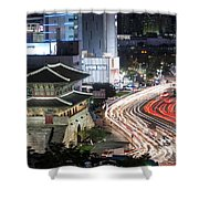 Heunginjimun Gate In Seoul Shower Curtain