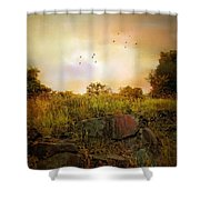 Hilltop Meadow Shower Curtain